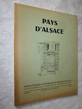 PAYS D'ALSACE N°  88 1974