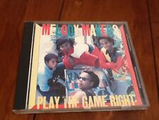 Play the Game Right by Ziggy Marley Melody Makers Rare OOP Cd EMI