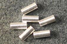 9 RÖHRCHEN AUS 925 SILBER 5x2 mm fugenlos 29001.
