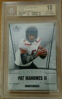 2017 Leaf Special Release Draft Silver Patrick Mahomes RC BGS 10  SUPER HOT RC