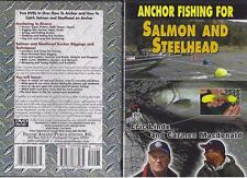 Anchor Fishing for Salmon and Steelhead Trout  2 DVDs in 1 NEW