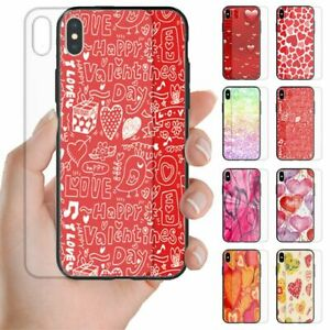 For OPPO Series Valentine's Love Tempered Glass Back Case Mobile Phone Cover #2