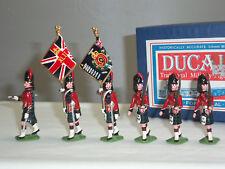 Ducal Blackwatch REGIMENT 1905 Couleur Parti Marching métal Toy Soldier Set
