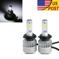 US H7 LED Headlight Bulbs For Yamaha V-Star XVS 650 1100 1300 Custom Silverado