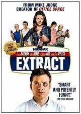 NEW DVD - EXTRACT - Jason Bateman, Mila Kunis, Ben Affleck, Kristen Wiig COMEDY