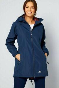 New Trespass Womens/Ladies Daytrip Hooded Waterproof Walking Jacket Coat Size 16