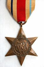 Original World War 2 British Campaign Medal: The Africa Star (WW2 1939-45)
