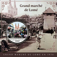 Togo Architecture Stamps 2020 MNH Lome Grand Market Cultures & Traditions 1v S/S