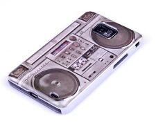 Hülle f Samsung Galaxy S2 i9100 Tasche Case Schutzhülle Radio Tape Ghettoblaster