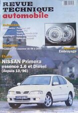 Revue technique NISSAN PRIMERA 1.6 essence +  diesel depuis 10/1996 RTA 626 2000
