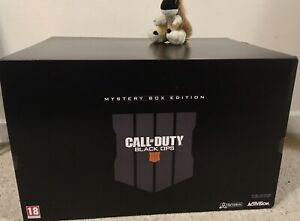 CALL OF DUTY BLACK OPS 4 MYSTERY COLLECTORS Zombies Weapons BOX EDITION PS4 PS5