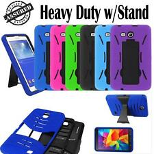 PC Armor Box Rugged Stand Case Cover for Samsung Galaxy Tab Tablet w/ Stylus Pen