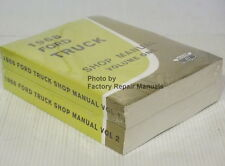 1968 Ford Truck All F100 F250 F350 Bronco Bus Factory Shop Service Manual Set