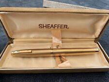 More details for targa by sheaffer gold fountain pen