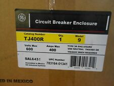 GE TJ400R CIRCUIT BREAKER ENCLOSURE; 600 V 400 A TYPE 3R - NEW IN BOX