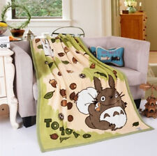 """55""""*40"""" Popular Layer Totoro Soft Blanket Throw QuiltComfy Anime Plush Sofa Gift"""