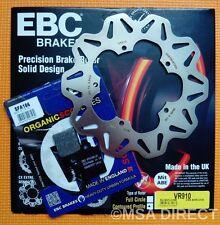 VESPA PX125/PX150/PX200 EBC DISQUE DE FREIN AVANT et FREIN Plaquettes de frein