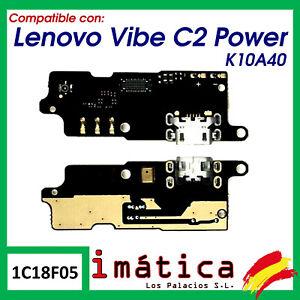 PLACA DE CARGA PARA LENOVO C2 K10A40 MICRO USB MICROFONO CONECTOR REPUESTO