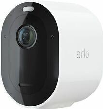 Arlo - Pro 4 Spotlight Camera Indoor/Outdoor 2K Wire-Free Security Camera w...