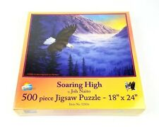 NEW Soaring High Bald Eagle Jigsaw Puzzle 500 pc Joh Naito Sealed Suns Out HGE