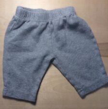 Circo Grey 0-3 Month Sweat Bottoms 100% Cotton Preowned InfantBabyShop.com
