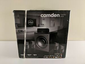"""NEW Camden Media Labs Home Theater """"CN8"""" *FAST SHIPPING*"""