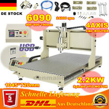 USB 4axis 2.2KW VFD CNC 6090Z Router Engraver Machine Woodworking Cutting Miller