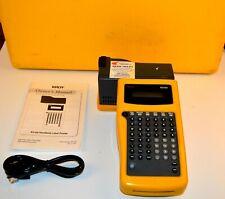 Kroy K5100 Industrial Hand Held Label Printer With Case Manual Etc