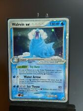 Walrein Ex 89/92 Legend Maker Pokemon Tcg Holo 2006 -Moderately Played-