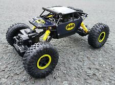 Batman Rock Crawler 2.4GHz Radio Remote control Car 4wd Truck Rechargeable UK