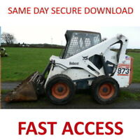 Bobcat S175 S185 Turbo Loader Service Manual - FAST ACCESS