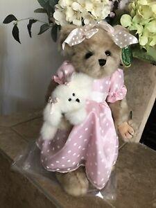 "Bearington Bears MISSY & PRISSY #179865 2009 Plush 16"" Musical LE 🐻w/Dog NIB🎶"