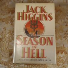 A Season in Hell by Jack Higgins (1989, Hardcover) First Edition