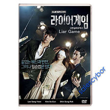 Liar Game Korean Drama (3 DVD) Excellent English Subs & Quality.