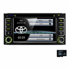 "6.2"" In Dash 2Din Car DVD Stereo Radio For Toyota RAV4 HILUX COROLLA 4runner"