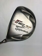 LH TAYLORMADE R5 DUAL 5 WOOD FAIRWAY 15 LOFT REGULAR FLEX GOLF CLUB LEFT HANDED
