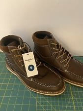 Men's Jarret Fashion Boots Comfort Boots Brown Goodfellow & Co Size 9