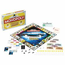 Nouveau Retour vers le futur trilogie Monopoly Family Board Game DeLorean officiel