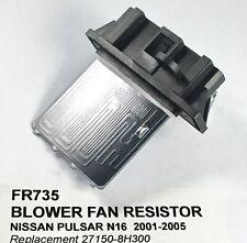 BLOWER CABIN MOTOR Fan Resistor suit Nissan Pulsar N16 27150-8H300  aftermarket