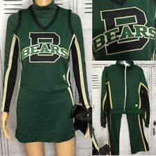 Cheerleading Uniform High School 6pc Set Bears Adult Sm