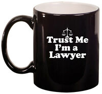 11oz Ceramic Coffee Tea Mug Glass Cup Trust Me I'm A Lawyer