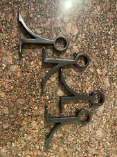 Pottery Barn Bronze Drape Rod Mounting Hardware - Used