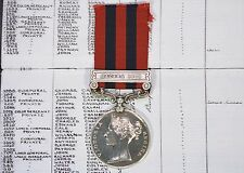 Victoria India General Service Medal Hazara 1888 - 99 Pte.J.Conley North'd Fus