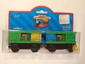 """Learning Curve 1999 - Vintage - Thomas the Tank Engine & Friends """"BOX CARS"""" NEW!"""