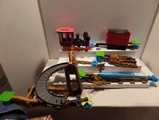 Disney Toy Story 3 Action Links Lot Buzz Saves Train T0503 & Jessie Rescue T0502