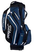 New Titleist Lightweight Golf Bag. 14 Dividers. Navy/Black/White Stand/Cart Bag