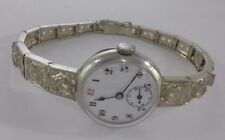 Unbranded Silver Case Wristwatches with 12-Hour Dial