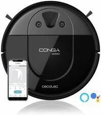 CECOTEC Robot aspirador Conga 2290 Panoramic. 2700Pa. 4&1. Alexa y Google Assist
