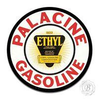 Vintage Design Sign Metal Decor Gas and Oil Round Sign - Palacine Ethyl Gasoline