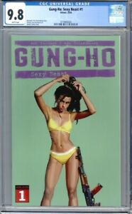 Gung-Ho: Sexy Beast #1  Ablaze Comics   1st Print    CGC 9.8